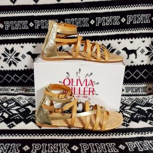 Olivia Miller Womens Sandals Size 10 New in box